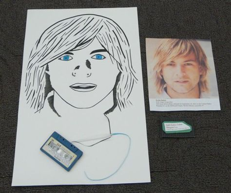 Upcycled Art Contest: Keith Harkin Tribute by Margaret Lee